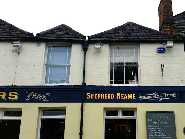 shepherd neame beer + food night