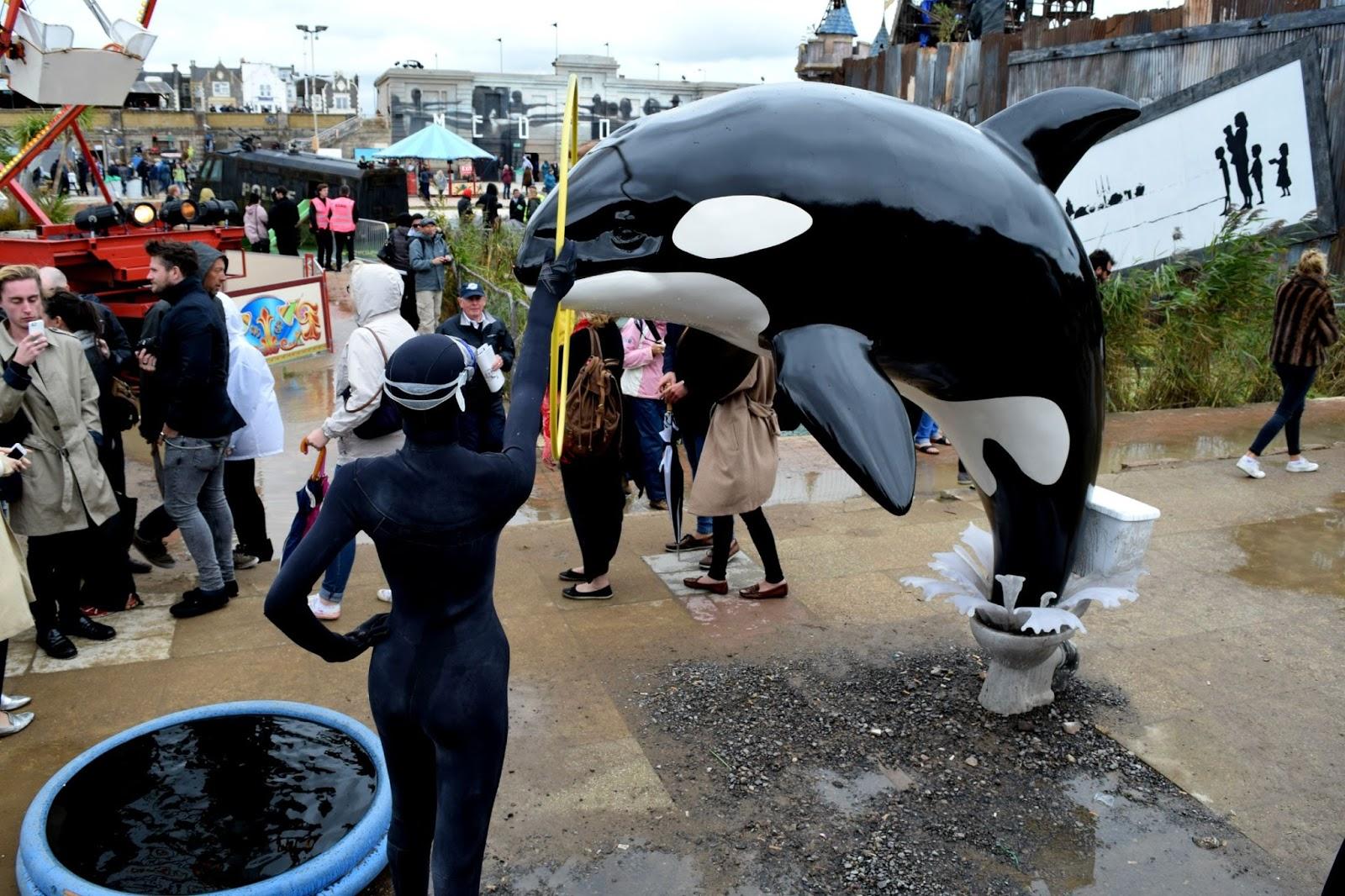 Dismaland Sea World Criticism