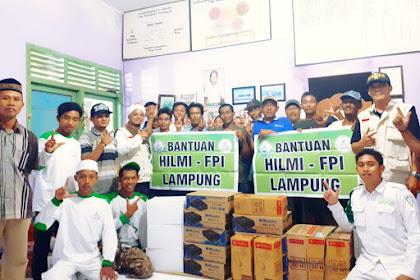 Angin Puting Beliung Landa Pringsewu, FPI Lampung Langsung Bantu Para Korban