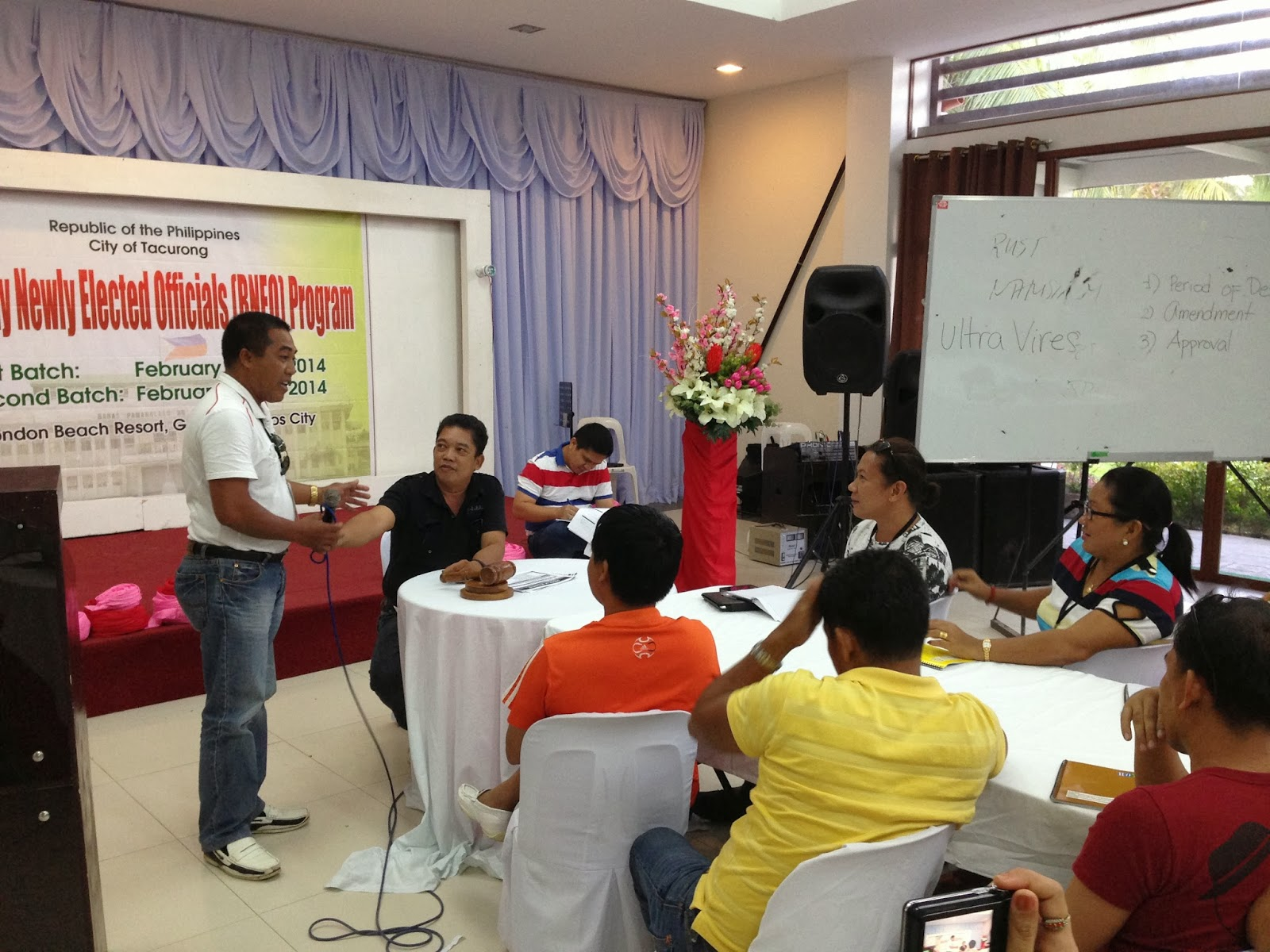 DILG, CPDC hold training for barangay officials | Tacurong City