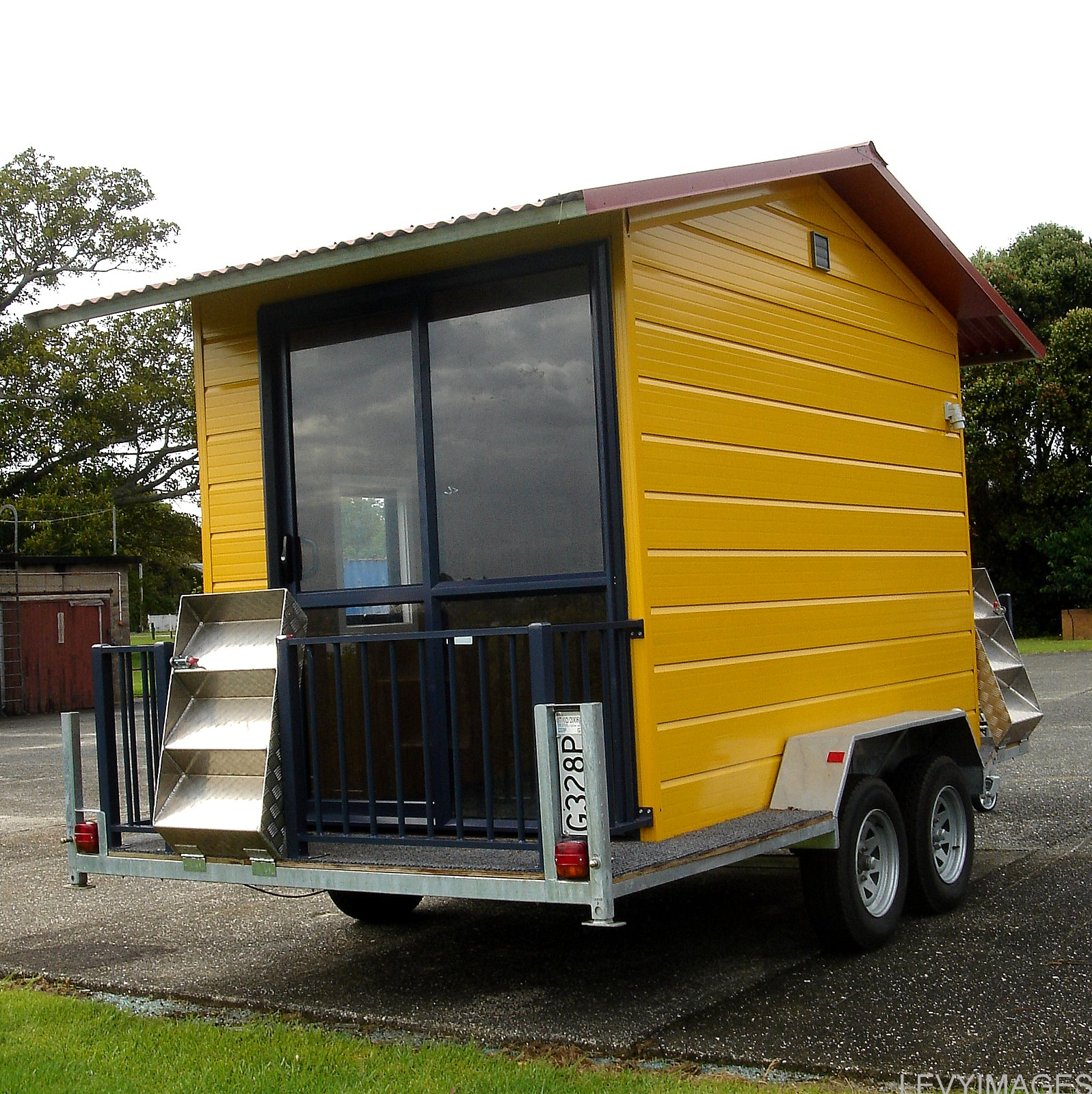 The Flying Tortoise Tiny House On Wheels
