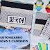 Diy: agenda e caderno argolado