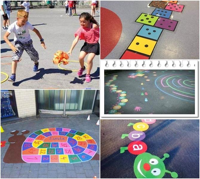 el patio lugar de encuentro y juego