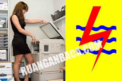 Solusi Mengatasi Mesin Fotocopy Yang Nyetrum