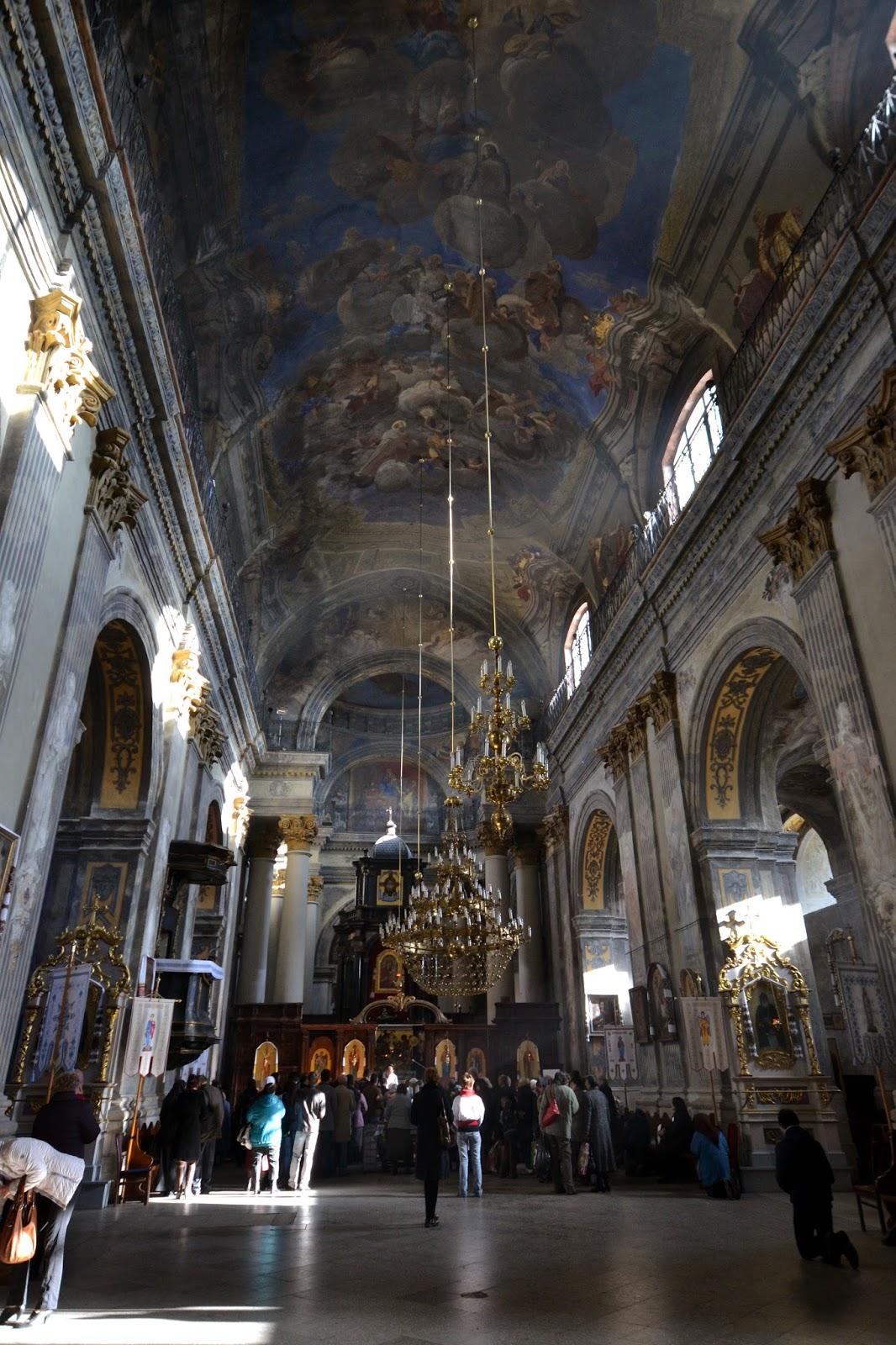 Lviv, Ukriane, church, beautiful, eastern Europe