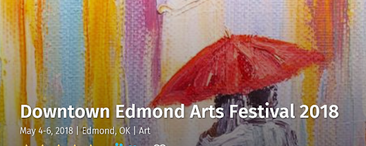 EDMOND ARTS FESTIVAL, MAY 5TH 12 NOON