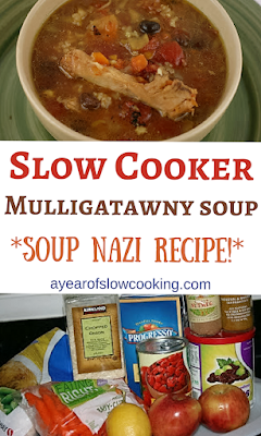 "This is the World Famous Mulligatawny soup recipe that was featured in the famous ""soup nazi"" Seinfeld episode. You can make this totally awesome soup at home, in your pajamas, in your very own slow cooker."