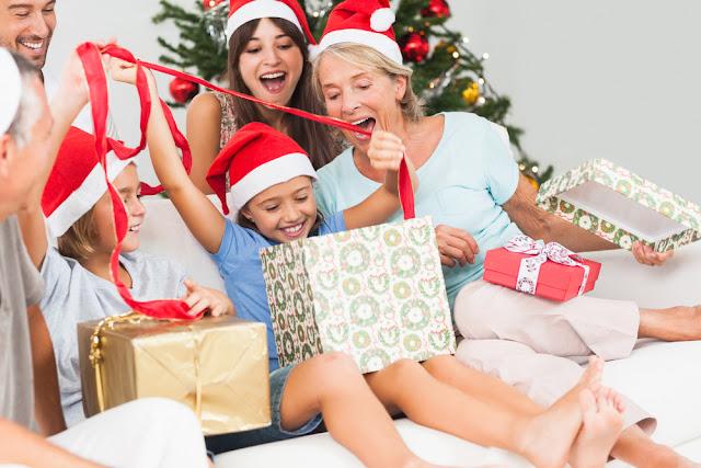 Amigo secreto brincadeira natalina