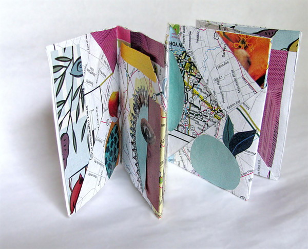 papercraft folded booklets by tamdoll