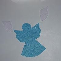 tutoriel tuto diy ange de noel feutrine décoration déco sapin enfant géant