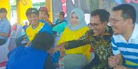 Serunya, Walikota dan Bupati Bima Nonton Bareng Kejuaraan Muaythai