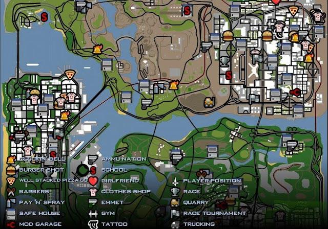 5 Alasan mengapa GTA San Andreas Masih Tetap eksis
