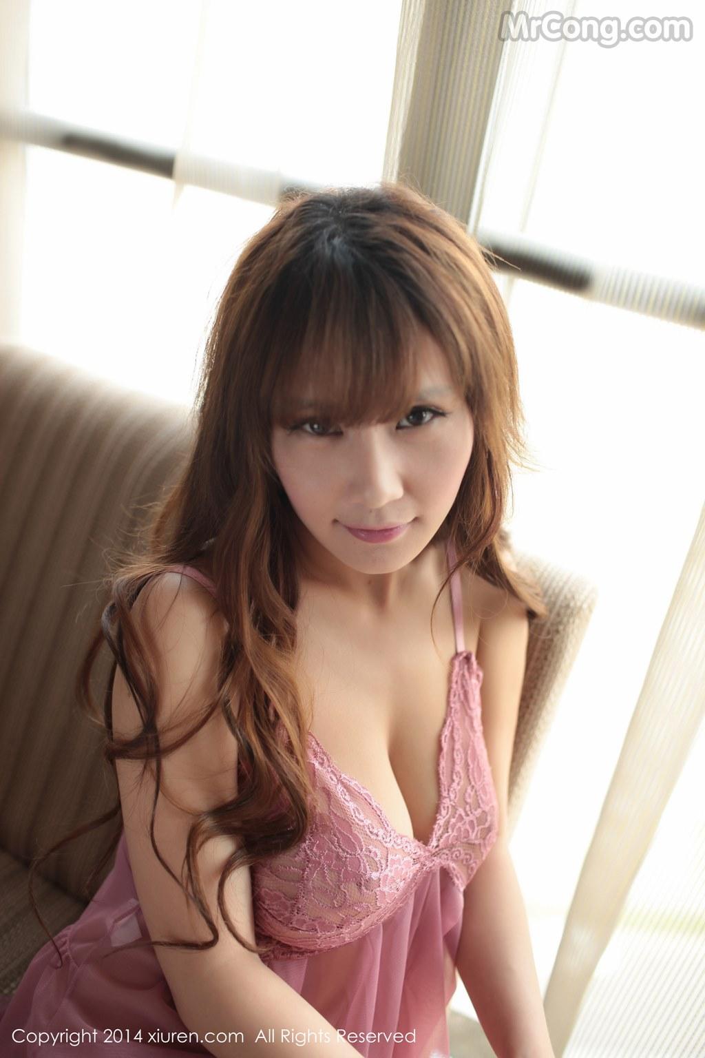 Image MrCong.com-XIUREN-No.130-Su-Ke-Er-016 in post XIUREN No.130: Người mẫu Su Ke Er (苏可er) (52 ảnh)