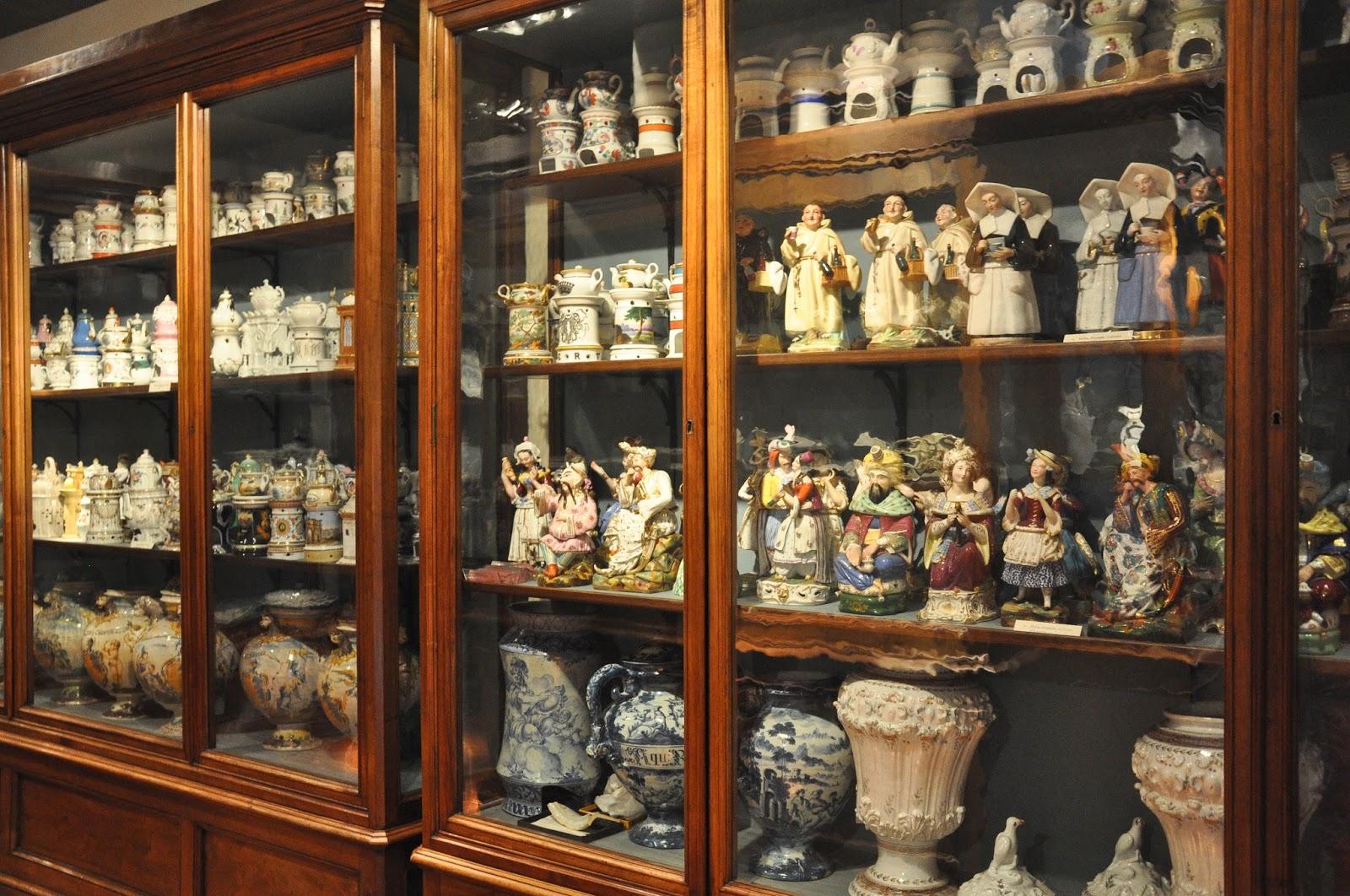 Ceramics Depository, Antique Art Museum, Palazzo Madama, Turin, Italy