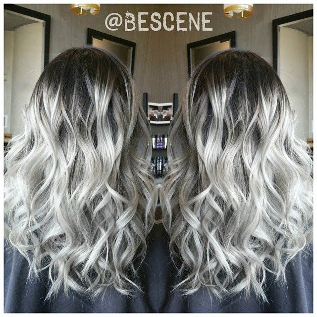 Platinum Ombre Hairstyles! Photos and Video tutorials ...