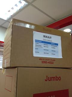 LBC Balikbayan Bulilit box