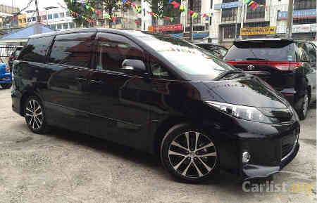NEW PREVIA 2.4 FULL SPEC AT (ACR50R-GFPGK) MINIBUS