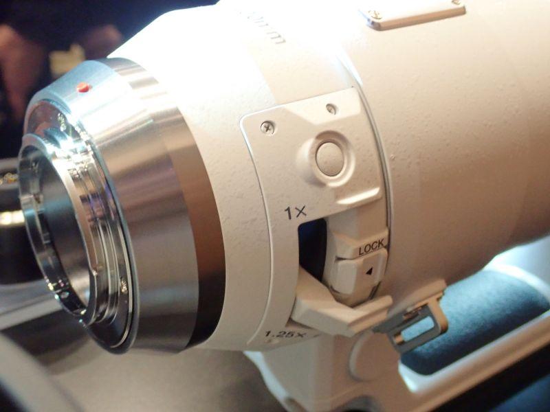 Переключатель телеконвертера Olympus 150-400mm f/4.5 TC1.25x IS Pro