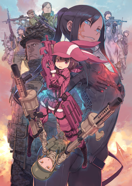 Novela Spin-off Sword Art Online Alternative Gun Gale Online tendrá anime