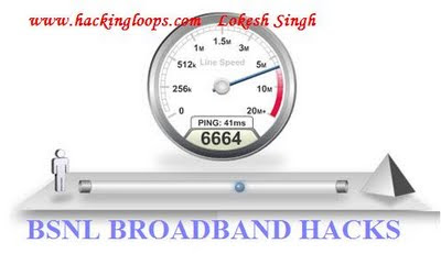 boost internet speed, hack broadband, bsnl broadband hacking