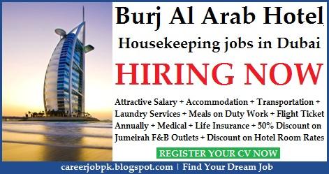 Burj Al Arab Hotel Housekeeping Jobs