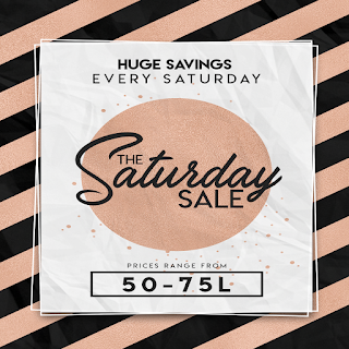 Saturday Sale