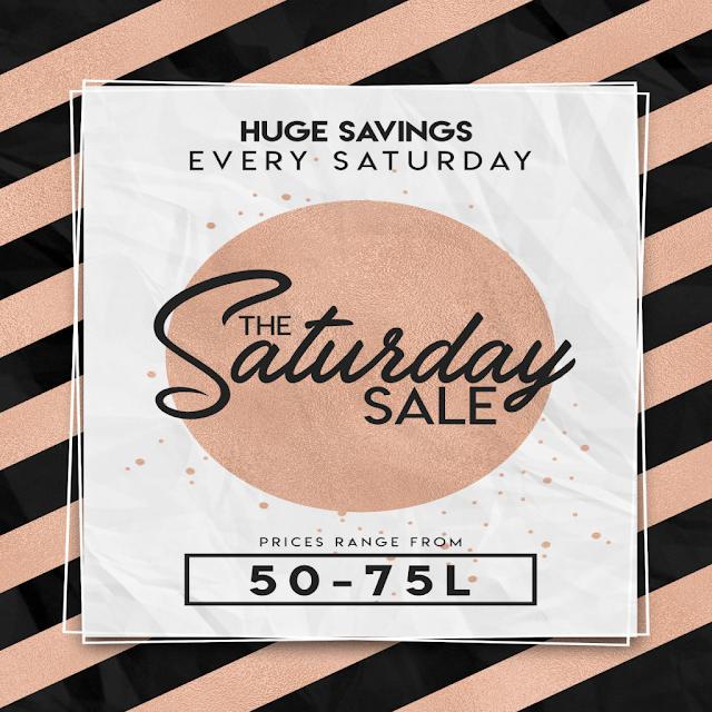 Saturday Sale @ Dark Passions
