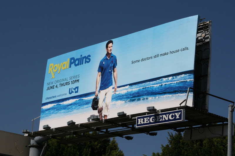 Royal Pains season one billboard