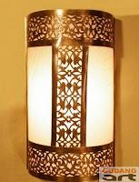 kerajinan+lampu+dinding+tembaga
