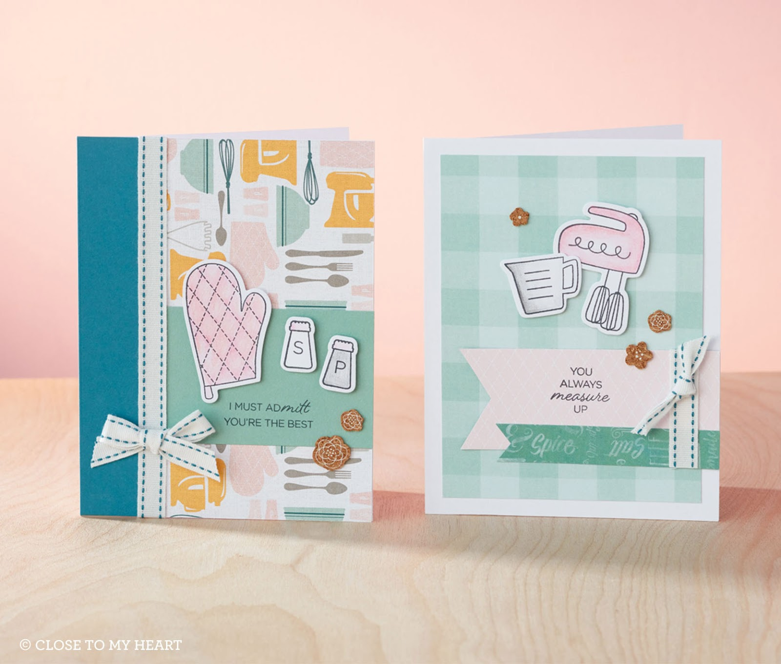 Show Me Scrapping Blog: Send Kitchen-themed Greetings (Gimme Some ...