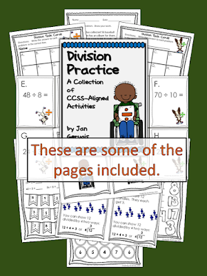 https://www.teacherspayteachers.com/Product/Division-Practice-CCSS-Aligned-Activities-1621474