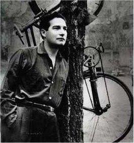 Foto de Octavio Paz cuando era muy joven