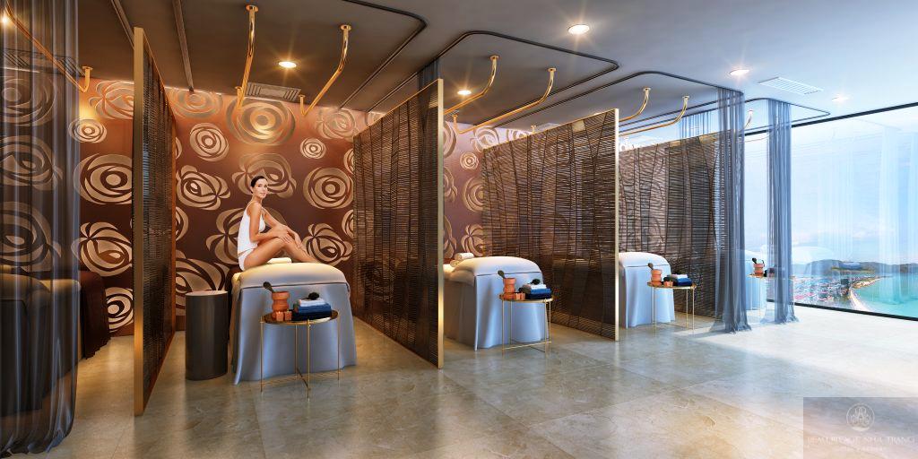Phòng tập Gym của dự án Beau Rivage Trần Phú