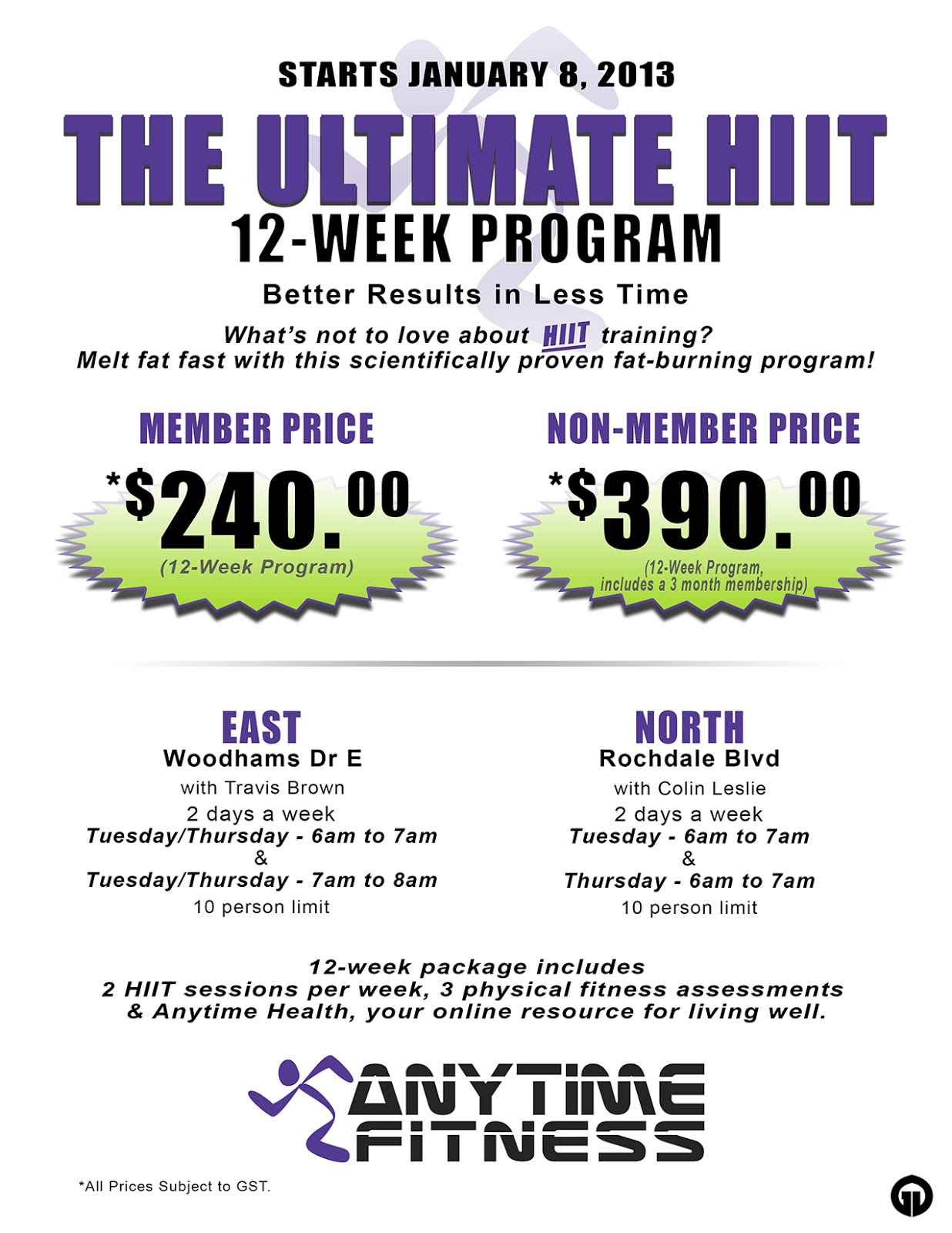 Anytime Fitness Day Pass Cost - Blog Dandk