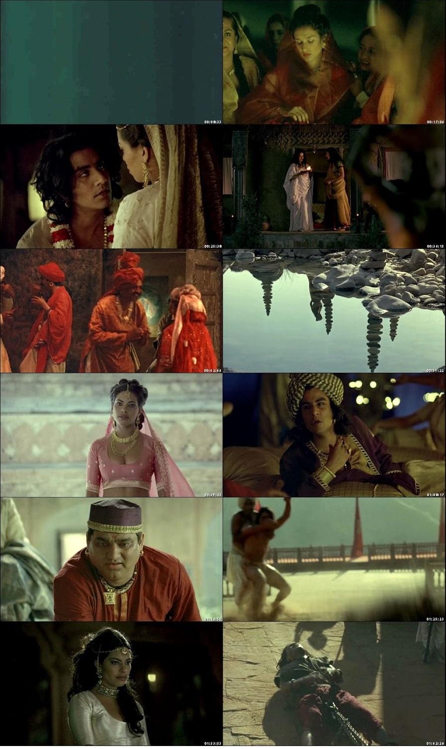 Screen Shot Of Kama Sutra: A Tale of Love 1996 In Hindi English Dual Audio Bluray