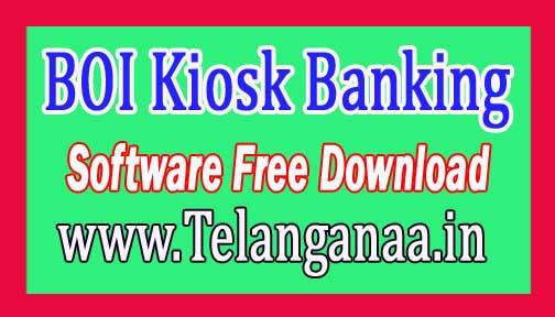 BOI Kiosk Banking Software Free Download Banks CSP/ Business Correspondent Softwares