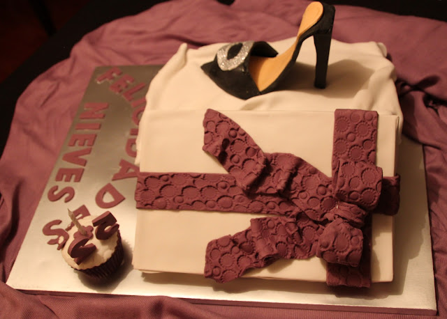 tarta-caja-de-zapatos, zapato-fondant