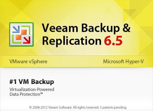 Updating Veeam Backup & Replication 6 5 License