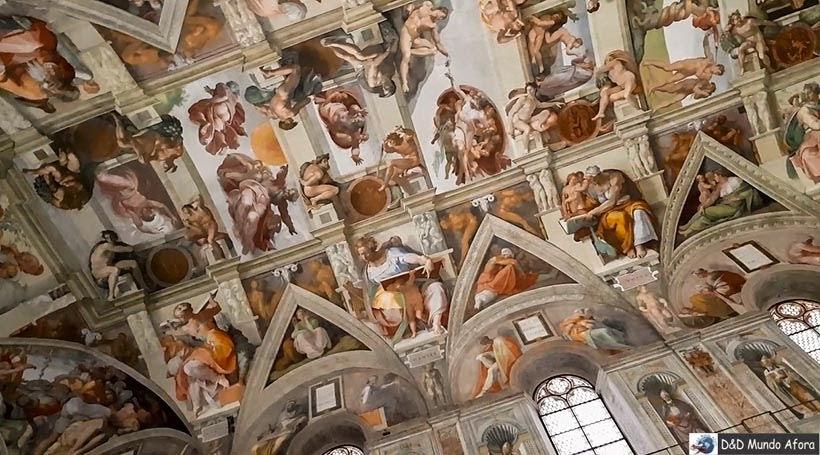 Capela Sistina no Museu do Vaticano - Diário de Bordo: 3 dias em Roma