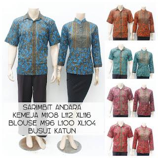Baju Batik Sarimbit Andara 6