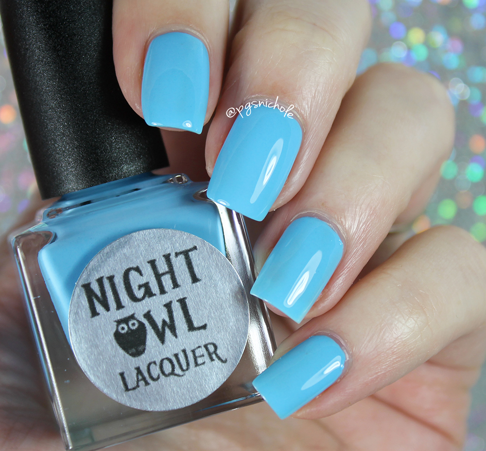 Bedlam Beauty: Night Owl Lacquer   Light & Bright Neon Creams