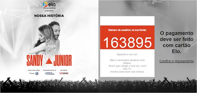 """Pré-venda para shows de """"Sandy & Junior"""" estão esgotados; venda geral dia 22"""