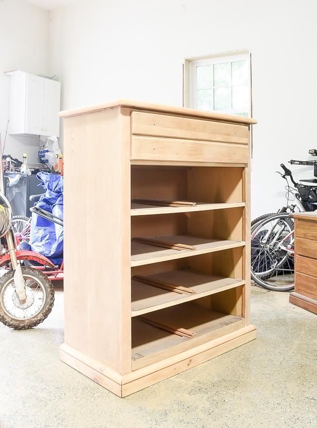 Sanded down dresser