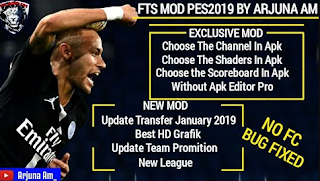 Download FTS 19 Mod PES 2019 Full European Winter Transfer Update