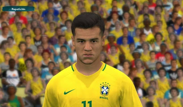 Philippe Coutinho Face PES 2017