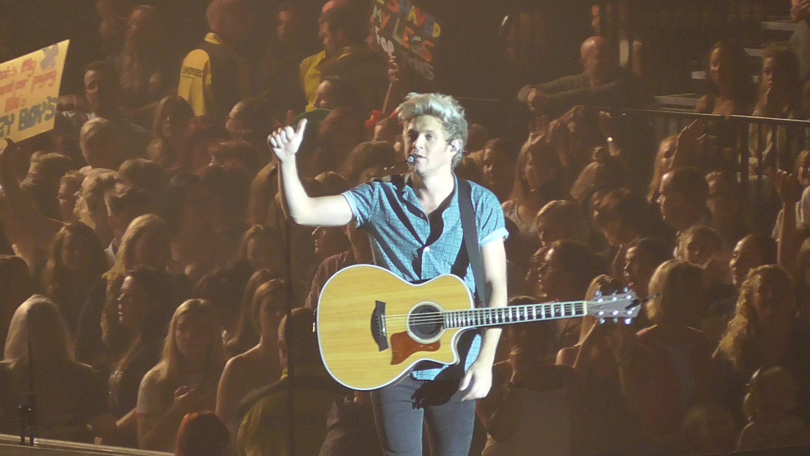 One Direction On The Road Again Tour Concert Review Niall Horan