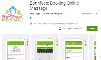 bonmass aplikasi booking online massage secara online dan mudah