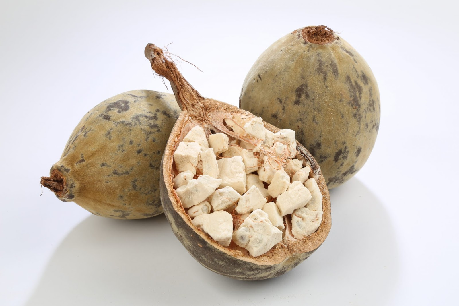 Baobab fruit is fruit from baobab tree that is native to Africa continent through the variety of this fruit also found in Australia.