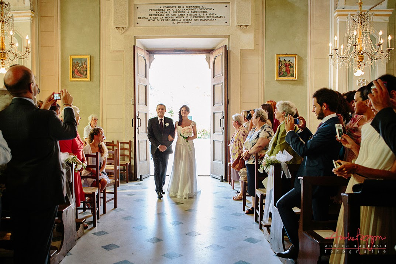 ingresso della sposa matrimonio Savona