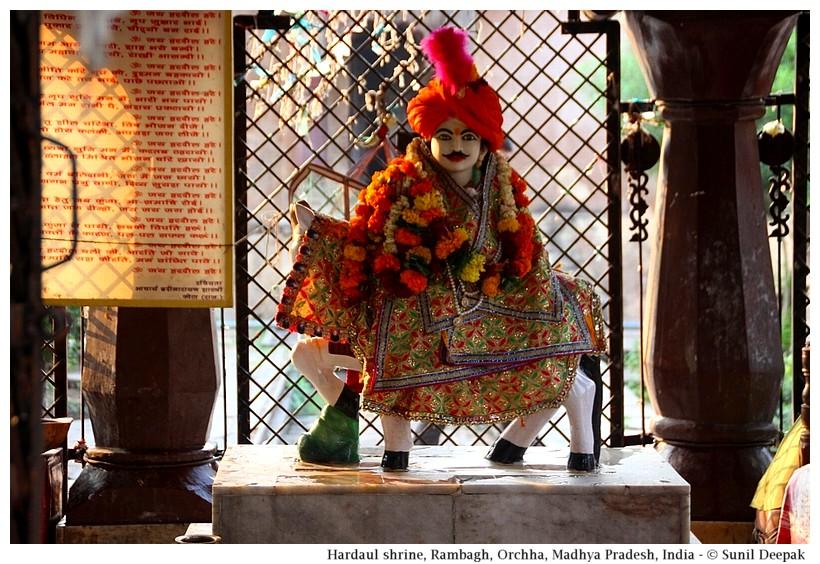 Hardaul statue, Orchha, Madhya Pradesh, India - Images by Sunil Deepak
